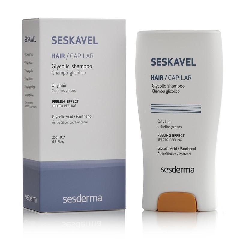 SeSKavel Shampooing glycolique revitalisant - www.peelings.net