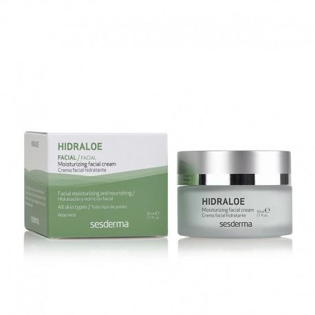 Hidraloe crème hydratante apaisante anti-âge