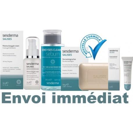 Salises émulsion hydratante anti-âge (crème-gel) NanoTech*