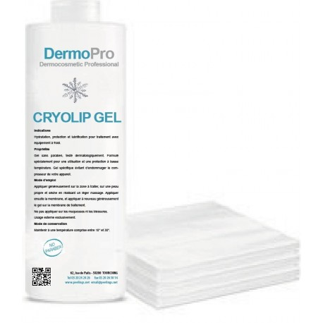 Cryolipolyse gel