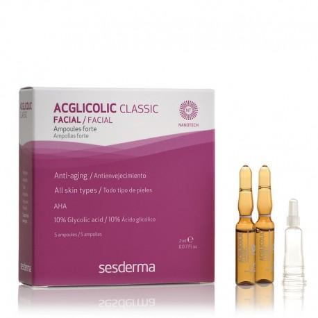 Acglicolic ampoules coup éclat à 10% d'acide de fruits