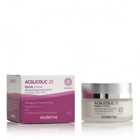 Acglicolic 20 crème hydratante