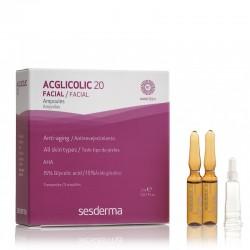 Acglicolic 20 ampoules à 15% d'acide de fruits