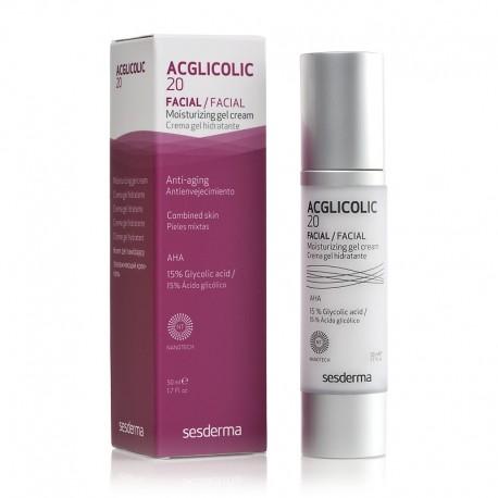 Acglicolic 20 crème gel hydratant