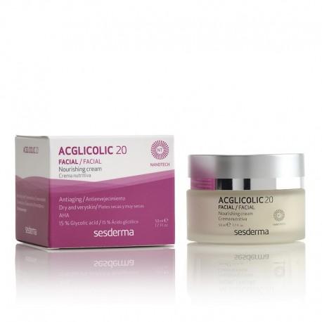 Acglicolic 20 crème nutritive anti-âge